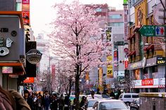 seoul, korea - looks like Itaewon - if it is, spent a lot of time shopping there.