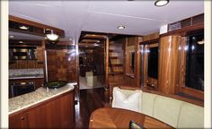 Ocean Alexander 74'-Galley-Custom Yacht Interior Design-Destry Darr Designs
