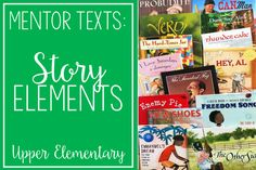 If you are looking for story elements mentor texts or read alouds for teaching story elements, definitely check out this post. The teacher shares 15 read alouds with brief summaries and the specific story element skills each read aloud addresses. Reading Strategies, Reading Skills, Teaching Reading, Comprehension Strategies, Reading Comprehension, Reading Help, Reading Tips, Learning, Reading Themes