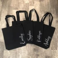 Personalized Tote Bag for Women Vertical - Personalized Bridesmaid Gift Bags - Bachelorette Party Totes - Bachelorette Party Favors – CookieCutterGifts Personalized Teacher Gifts, Personalized Tote Bags, Personalized Bridesmaid Gifts, Bachelorette Cruise, Bachelorette Party Favors, Bridesmaid Gift Bags, Gifts For Coworkers, Bridal Gifts, Cute Gifts