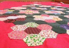 Hexágonos patchwork