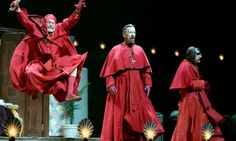 An image tagged spanish inquisition,nobody expects the spanish inquisition monty python,monty python,memes Monty Python, Reece Shearsmith, Comedy Acts, Terry Gilliam, The Reunion, Stage Show, London, Good People, Twitter