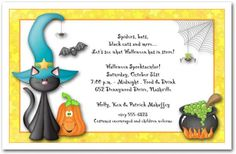 Party: Halloween Party Invitation Wording To Bring More Colors On Your Outstanding Party Invitations 2