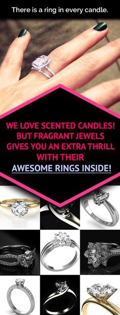 Can you imagine? Each one of these beautiful Fragrant Jewels candles has a ring hidden inside the wax AND a chance to win a $10,000 diamond ring!