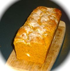 Diabetic Friendly Recipe:  Pumpkin Bread. A great way to make your breakfast sandwiches or to use with your favourite soup or salad.    Because this bread is sugar free, made from unprocessed spelt flour it is safe for type 2 diabetics. It tastes sensational as well.     Click through to see how to make this beautiful bread.