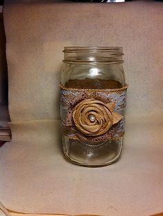 Handmade Mason Jar Décor: removable