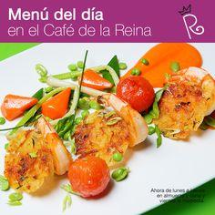 ¿Por qué disfrutar de nuestro menú del día en el Café de la Reina sólo a la hora de comer? ¡¡Ahora también, puedes probarlo a la hora de la cena!!