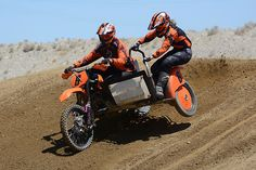 Sidecarcross: Lunatic Fringe or Two Much Fun?