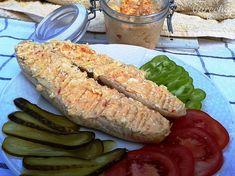 Vajíčková nátierka do prírody (fotorecept) - Recept Fresh Rolls, Ale, Sausage, Treats, Ethnic Recipes, Food, Sandwich Spread, Sweet Like Candy, Goodies