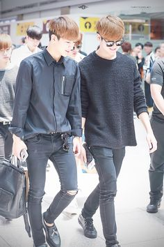 Song Yunhyeong & Jong Chanwoo @ INC Airport 160520