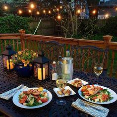 Love our backyard! #myopenkitchen   Instagram @ericacampbellbyrum