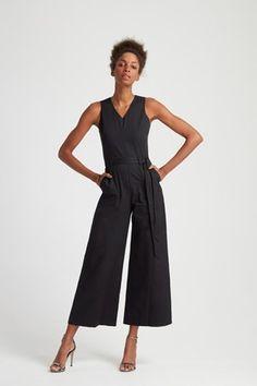 Adalee Jumpsuit in Black