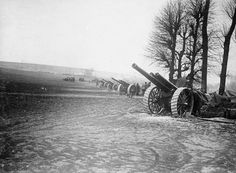 Voices of the First World War: The German Spring Offensive World War One, First World, Spring Offensive, Railway Gun, Ww1 History, Flanders Field, Big Guns, German Army, Historical Pictures