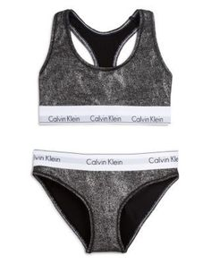 5e622c0b551bd Calvin Klein Underwear Modern Cotton Bralette and  Bikini… Cotton Lingerie