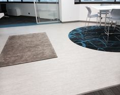 Showroom Flooring: Division 9 Associates from Parterre Flooring. View our extensive collection of professional grade vinyl flooring today! Vinyl Flooring Installation, Office Floor, Luxury Vinyl Flooring, Division, Showroom, Glass, Design, Home Decor, Decoration Home