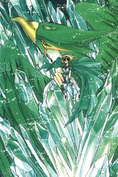 Fuu was always my favorite from Magic Knight Rayearth (next to Ferio, of course, but of the Knights...)