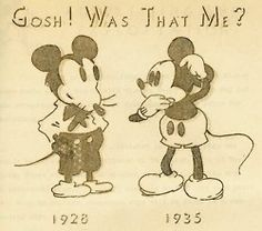 Mickey Mouse had a serious makeover