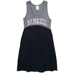 New York Yankees Women's Triblend Jersey Dress by 5th & Ocean - MLB.com Shop
