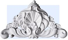 Venetian Scroll wall decoration