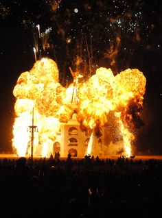 2012 #BurningMan explosion.... One of the most memorable moments of my life. Wish i could go back home this year :(