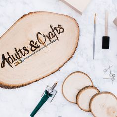 Do you face challenges with time and hosting events? The subscription box craze catched momentum traction in You can find everything from shaving products to pet supplies. Diy Crafts For Adults, Adult Crafts, New Crafts, Wood Burning Tool, Wood Burning Crafts, Craft Kits, Craft Projects, Cement Work, Father's Day Specials