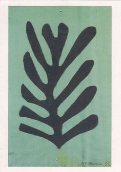 Henri Matisse, cut out