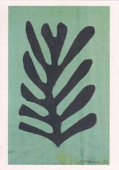 Henri Matisse, cut out