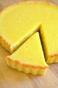 Meyer Lemon Curd Tar