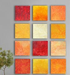 Orange Rote Farbpalette Beispiele Wandfarben Ideen