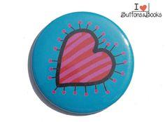 Herz+bunt+Liebe-50mm-Button-Anstecker-groß+von+Buttons&Books+auf+DaWanda.com