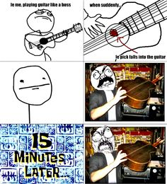 Yah….. People Who Play Guitar Will Understand This…