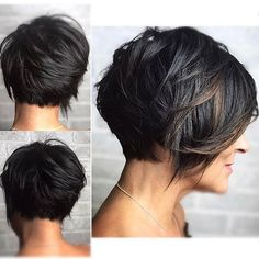 Best Short Layered Pixie Cut Ideas 2019 - The UnderCut Best Short Layered Pixie Cut Ideas In every period of rapidly changing hair trends, short pixie cuts can be an excellent experience Short Pixie Haircuts, Short Bob Hairstyles, Long Pixie Bob, Sassy Haircuts, Layered Hairstyles, Boho Hairstyles, Summer Hairstyles, Short Hair With Layers, Short Hair Cuts