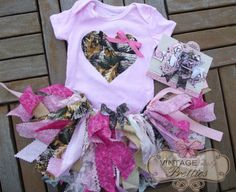 Newborn, Baby Girl, Toddler Real Tree Pink Camo Bodysuit - Pink  Real Tree Camo Scrappy Fabric Tutu - Pink and Real Tree Burst Bow Headband on Etsy, $40.00