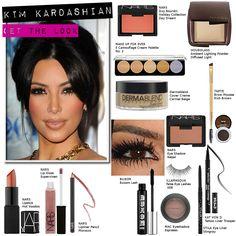 Kim Kardashian Makeup how to's and DUPES