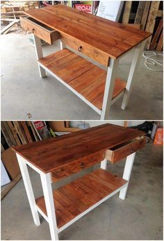 Pallet Breaker   Diy Pallet Patio Furniture   How To Make A Dining Table Out Of Pallets 20190303 - March 03 2019 at 04:40PM Diy Wood Pallet, Wood Pallet Tables, Wooden Pallets, Pallet Beds, Wooden Diy, Used Outdoor Furniture, Pallet Patio Furniture, Home Furniture, Furniture Layout