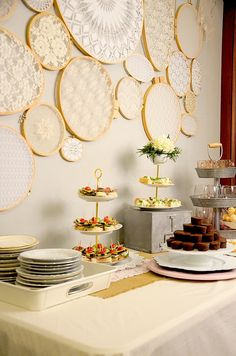 Shabby Chic Baby Shower - Nina Lee Events