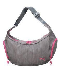 0f9ccd3f6dd4 Gray Heather Shoulder Bag by PUMA  zulilyfinds Fitness Fashion