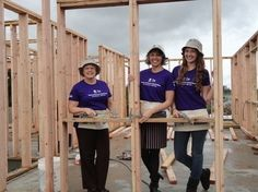 This International Happiness Day, celebrate with fellow Women Build volunteers!