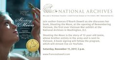 Frances O'Roark Dowell to discuss Shooting the Moon at National Archives | Frances O'Roark Dowell - Official Author Site
