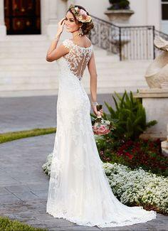 Fall 2015 – Bridal Trends | Illusion Back | Stella York - Style 6118 at Ella Park Bridal