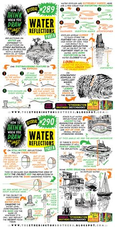 I'm reprinting BOTH my 200 PAGE drawing tutorials. - The Etherington Brothers Drawing Lessons, Drawing Techniques, Drawing Tips, Drawing Reference, Pose Reference, You Draw, Learn To Draw, Comic Tutorial, Background Drawing