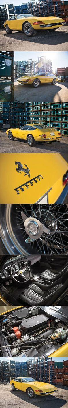 1971 Ferrari 365 GTB/4 Daytona /Italy / yellow / hypercarbulli