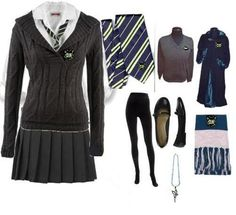 YA romance school uniform idea