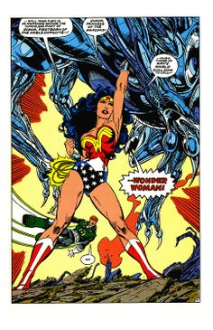 Legends #6 (DC Comics - April 1987) - Illustrators: John Byrne (Pencils) & Karl Kesel (Inks)