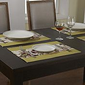 Set Of 4 Country Multi-color Floral Placemats – AUD $ 24.25