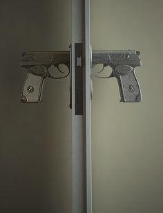 Gun Door handles