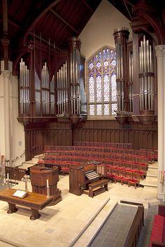 Highland Park United Methodist Church. Dallas, Texas. Dobson Pipe Organ Builders, Ltd. - Op. 87