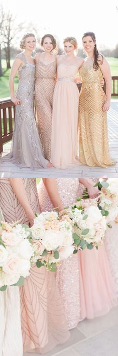 bridesmaid dresses, 2017 wedding party dresses, evening dresses, elegant evening dresses with beaded