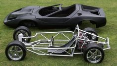 Auto Frame and Chassis | 2011 Sterling Other Sterling Tube chassis, mid engine, Subaru