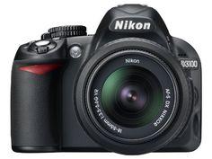 Nikon D3100 14.2MP Digital SLR Camera with 18-55mm f/3.5-5.6 AF-S DX VR Nikkor Zoom Lens $546.95